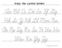 cursive letters basic handwriting for kids cursive alphabets