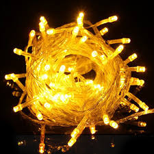 meters 100leds yellow led string lights light