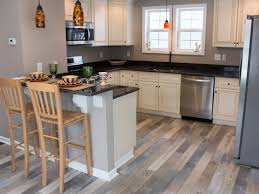 Kitchen Laminate Floor Coastal House Flip With Gorgeous Relcaimed Laminate Floors