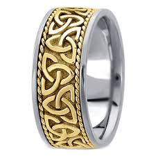 mens celtic wedding bands yellow gold wedding bands from mdc diamonds