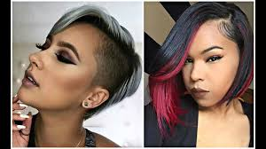 2017 short haircuts for black u0026 african american women youtube