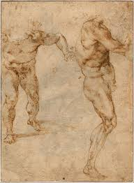 michelangelo u0027s studies and sketches and men u0027s maliciousness