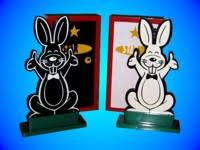 hippity hop rabbits children s magic la rock s magic