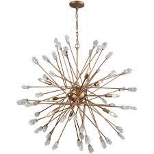 elk lighting 11114 9 serendipity 9 light chandelier in matte gold