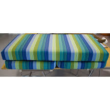 Bench Cushions For Outdoor Furniture by Custom Outdoor Bench Cushion Outdoor Fabric Central