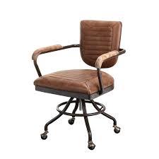 17 stories dubois leather desk chair u0026 reviews wayfair