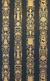Hand Printed Wallpaper by Contemporary Wallpaper Polyester Sketch Hand Printed Great