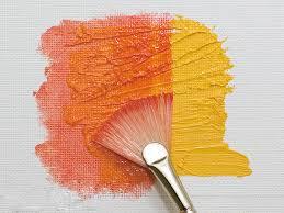 fan brush oil painting oil paint brush mau art design glossary musashino art university