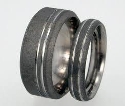titanium wedding band sets 141 best rings images on titanium wedding bands
