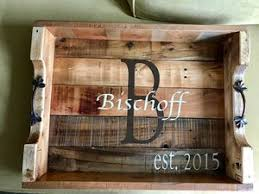 monogrammed serving tray serving trays haus of bischoff