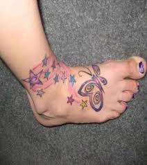 beautiful foot tattoo design for stylish women 3 womenitems com