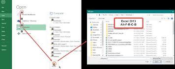 excel 2013 u0026 2010 shortcuts to open recent files