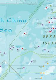 China Sea Map by Fiery Cross Reef And Strategic Implications For Taiwan Asia