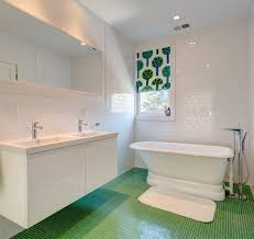 White Subway Tile Bathroom by White Subway Tiles Bathroom Transitional With Corner Bench Seat