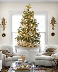 White Christmas Tree With Blue Decorations Eddie Ross U0027s Christmas New England Christmas Decorations