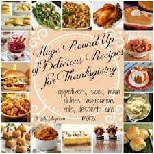 tons of amazing thanksgiving recipes from mains to side dishes to