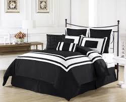black and white bed sheets minimalist bright white bed design