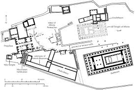 plan of the akropolis at athens in 400 bce sacred spaces