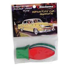 christmas bulbs reflective holiday car magnets d cars make your