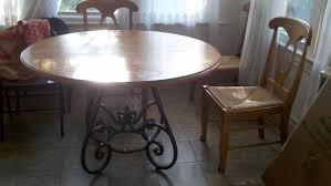 dining room table with roller chairs