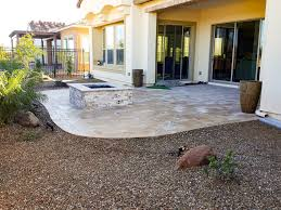 Travertine Patio Fire Pits Designed By Az Living Landscape Call 480 390 4477