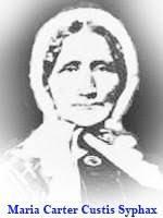 maria carter maria carter custis syphax 1804 1886 find a grave memorial