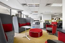 colorful and welcoming sherwin williams office in malaysia 14
