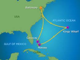 map usa bermuda 9 bermuda bahamas cruise rcl grandeur of the seas cruise