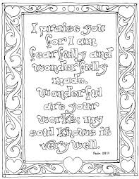 coloring pages for kids by mr adron printable psalm 139 14