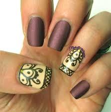 henna inspired nail art penguinsleftgreenpolish