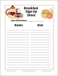 salad bar sign up sheet search recipes
