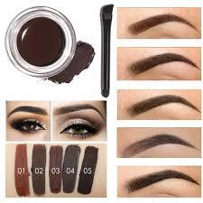 henna eye makeup aliexpress buy 5 colors henna eyebrow gel professional eye