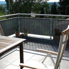 sichtschutz balkon grau lavitio sichtschutz lavitio