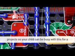 snap circuits lights electronics discovery kit elenco snap circuits lights electronics discovery kit youtube