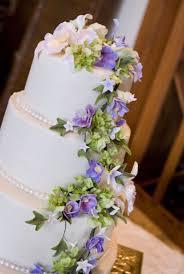torta de boda decorada con flores de azucar tortas de quince