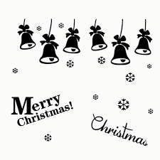 compare prices on flower shop window online shopping buy low merry christmas snow flower bells wall sticker home decor shop store party window stickers decoration