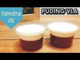 membuat puding fla resep dan cara membuat puding coklat vla resep vla puding youtube