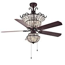 Chandelier Ceiling Fans With Lights Warehouse Of Cfl 8154br Charla 4 Light 52 Inch