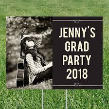 graduation signs custom graduation party yard signs custom designs from pear tree