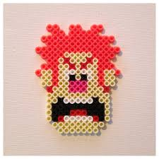 wreck it ralph magnet or christmas ornament perler pixel art 4