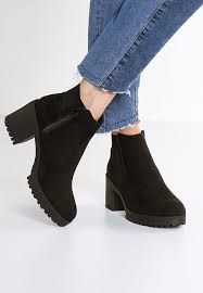 ankle boots uk look look column ankle boots black zalando co uk