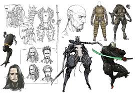 Anime Character Design Ideas Ruminations On Character Design Platinumgames Official Blog