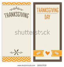 vector set thanksgiving day backgrounds stock vector