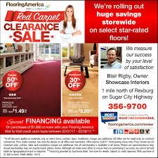 carpet clearance sale flooring america