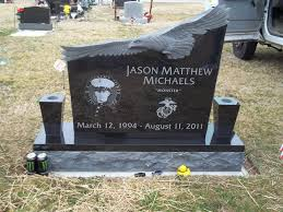 unique headstones black granite headstone with carved eagle we design unique