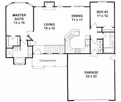 ranch floor plans with split bedrooms plan 1179 ranch style small house plan 2 bedroom split