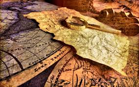 Old Treasure Map 576 Map Hd Wallpapers Backgrounds Wallpaper Abyss