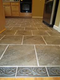 kitchen flooring natural stone tile floor ideas fabric look