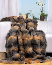 Fox Fur Blanket Fox Blanket Blanket Ideas