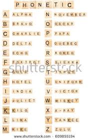phonetic alphabet stock images royalty free images u0026 vectors